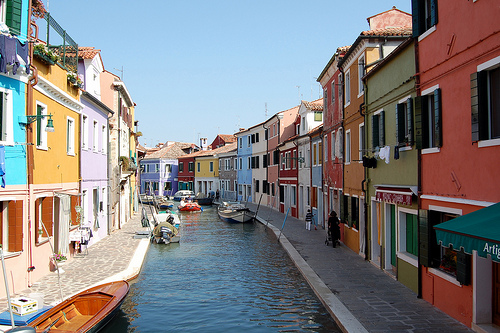 United colors of Burano