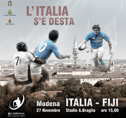 Test Match Italia-Fiji